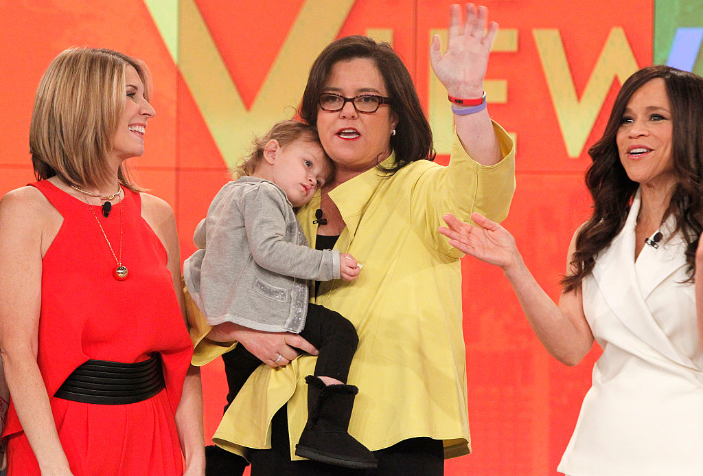 Rosie O'Donnell in 2015 on her last day on 'The View'