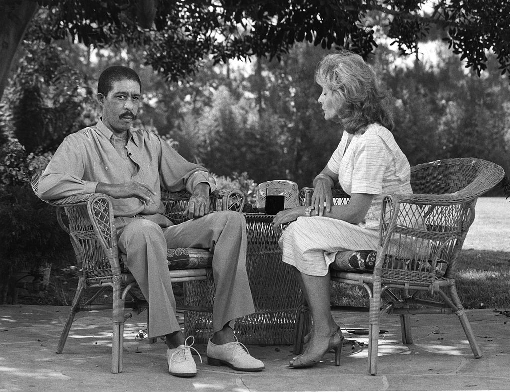 Barbara Walters interviewing Richard Pryor in 1980