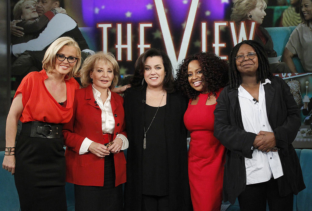 Rosie O'Donnell and her cohosts on 'The View,' Season 17