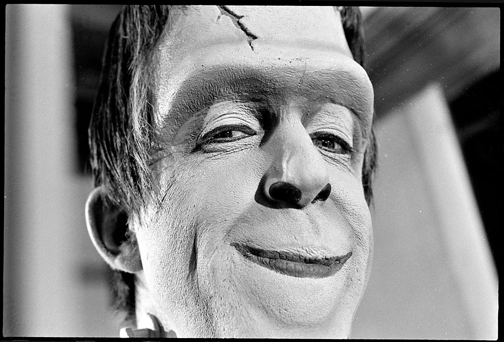 Actor Fred Gwynne as Herman Munster in 'The Munsters'