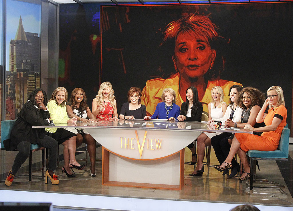 Barbara Walters and the various hosts of 'The View' in 2014