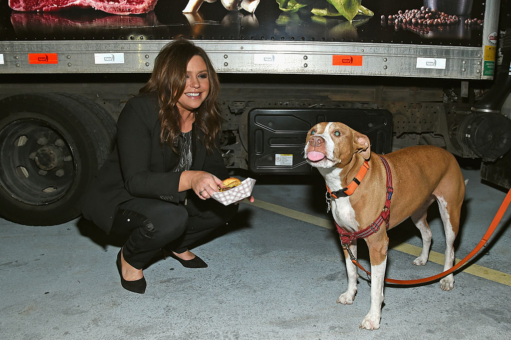 Rachael Ray and her Isaboo, who died in May 2020