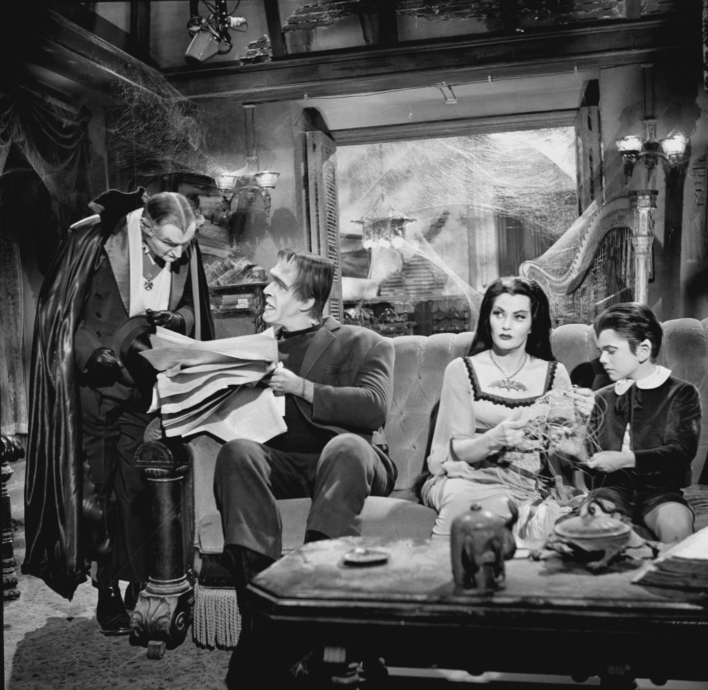 A scene from 'The Munsters'