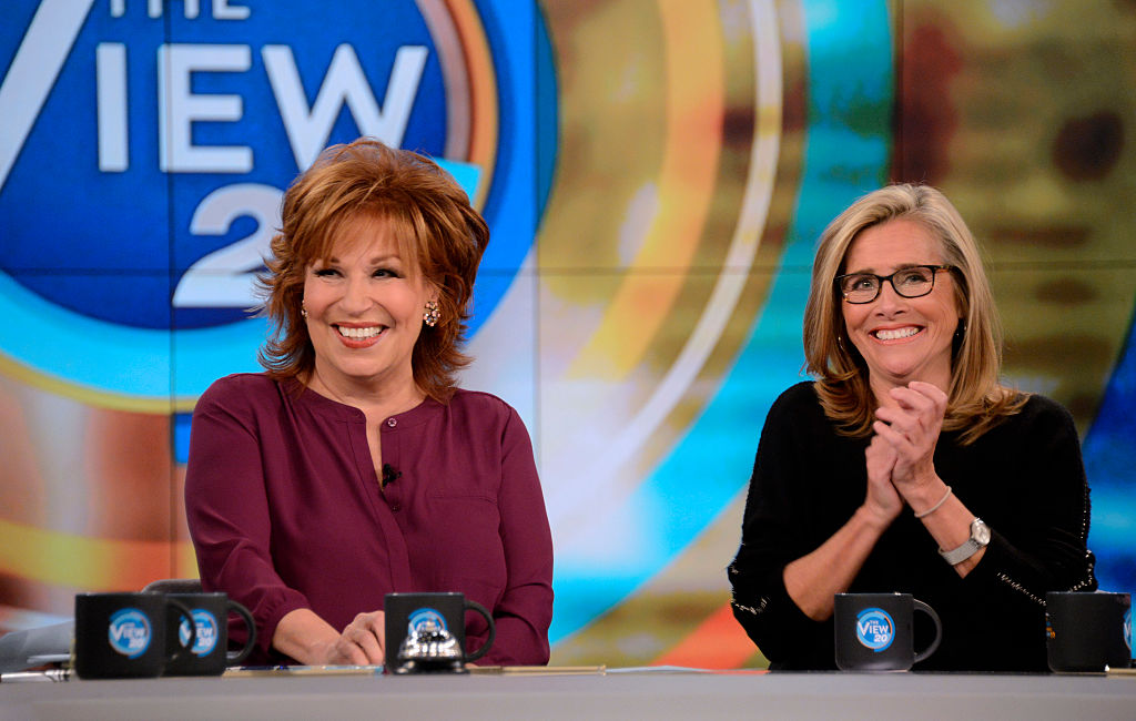 Meredith Vieira, right, in a 2016 guest appearance on 'The View'