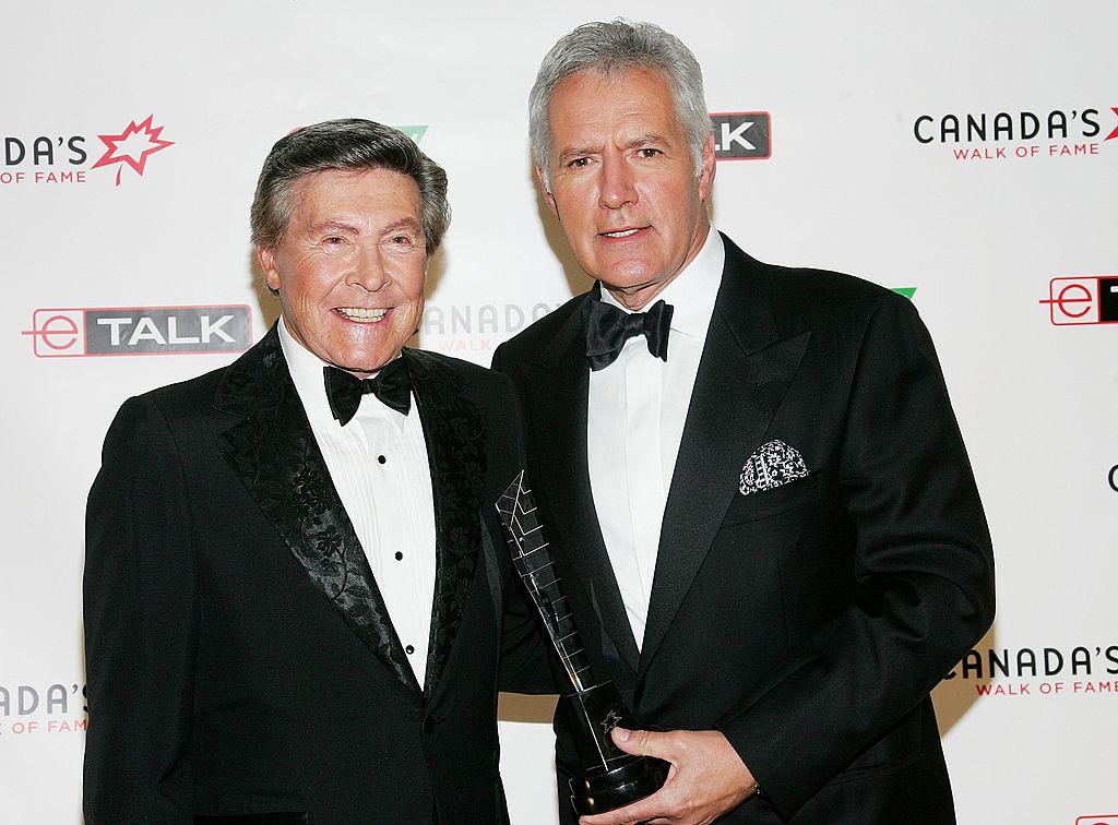 'Jeopardy!' announcer Johnny Gilbert and host Alex Trebek