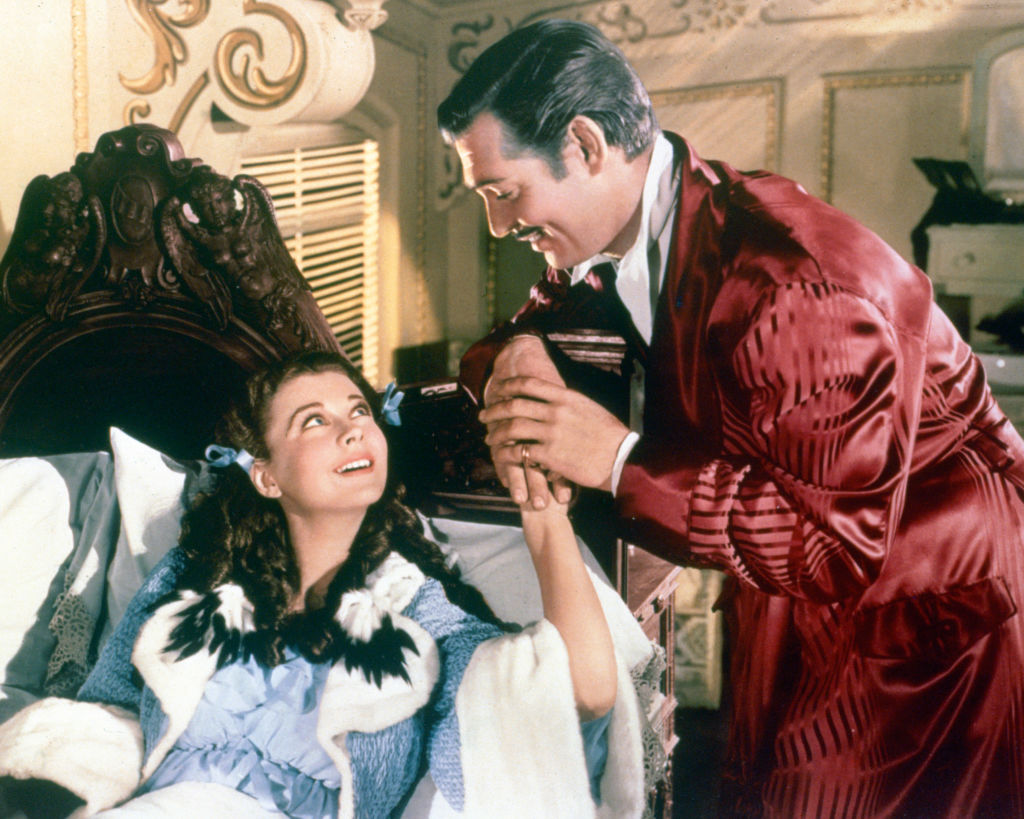 A scene from 'Gone With The Wind'