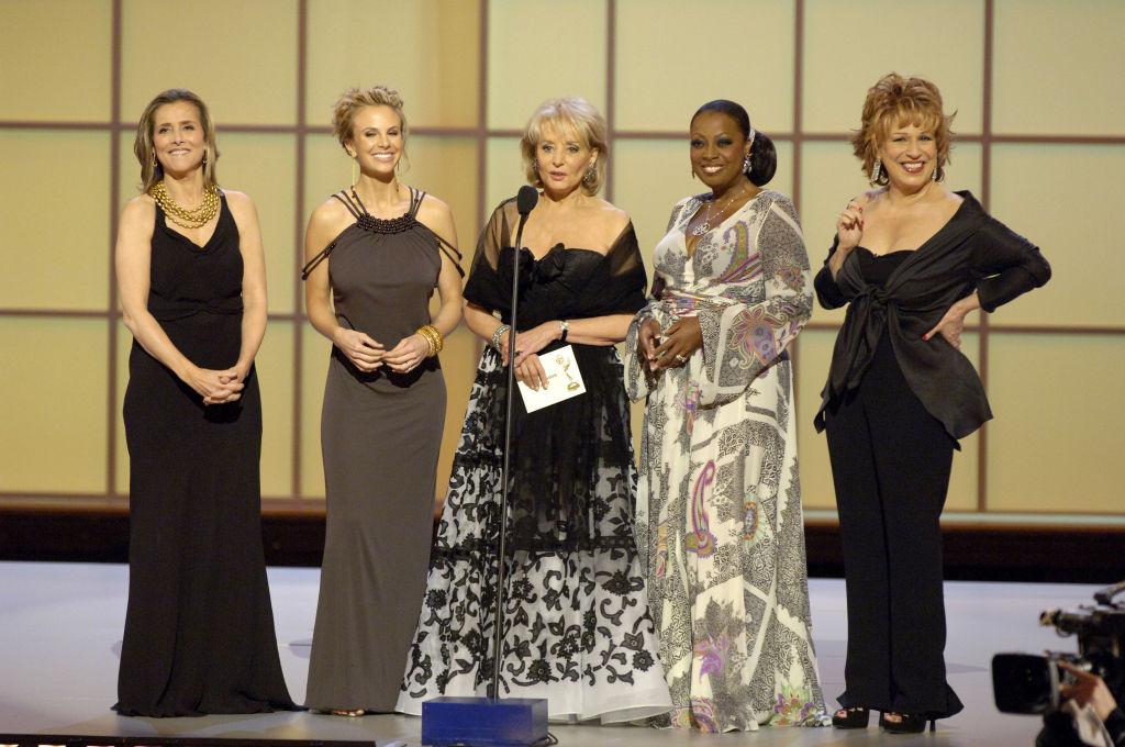 Meredith Vieira, Elizabeth Hasselbeck, Barbara Walters, Star Jones, and Joy Behar of 'The View'