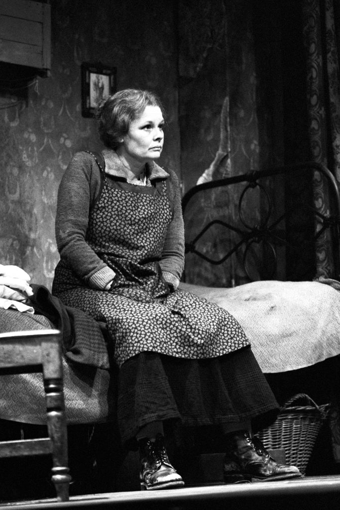 Judi Dench in 1980 on the stage