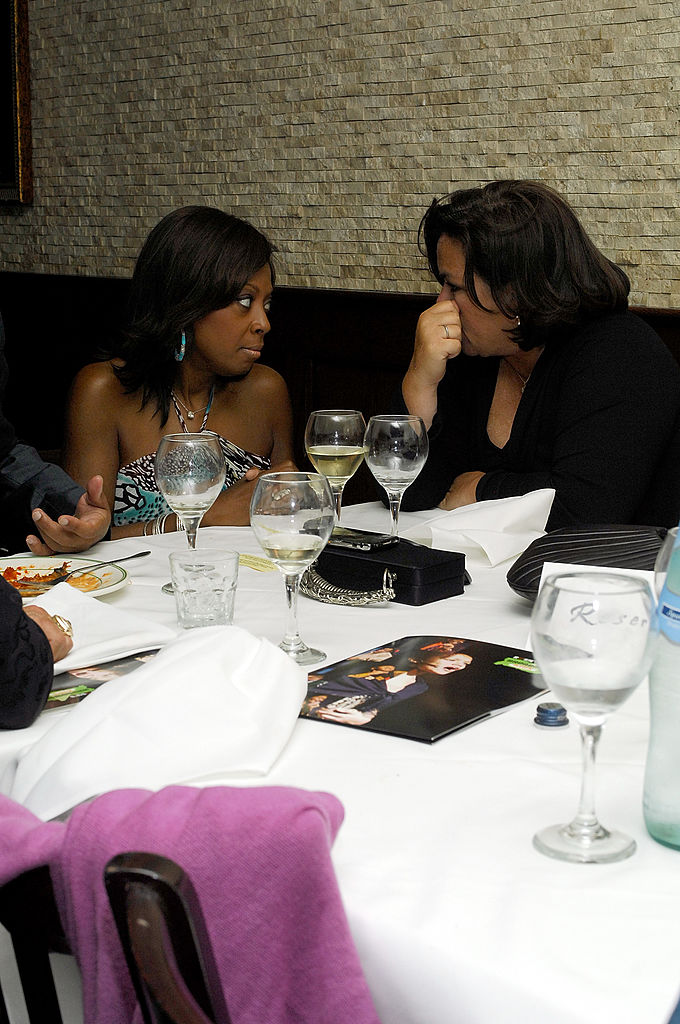 Star Jones and Rosie O'Donnell in 2009