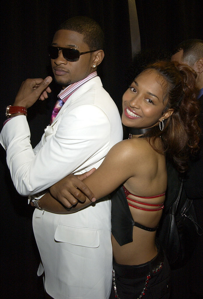 Usher and Chilli of TLC