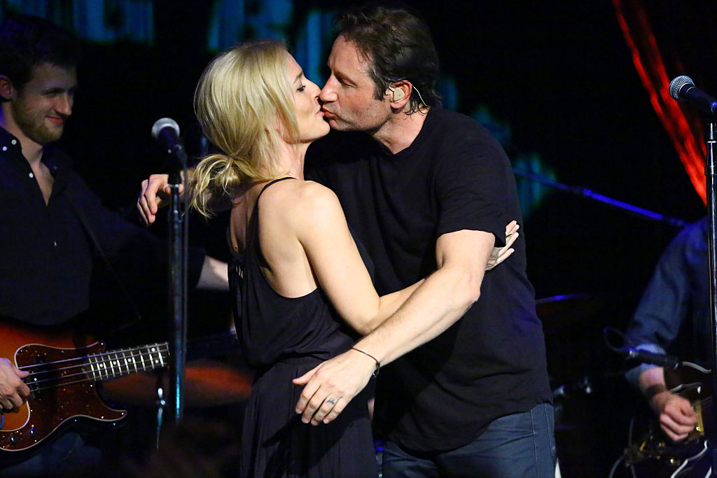 The X-Files star Gillian Anderson and David Duchovny