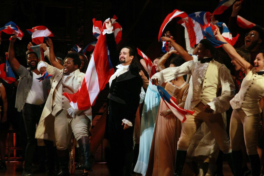 Lin-Manuel Miranda and the cast of 'Hamilton' say goodbye to the audience
