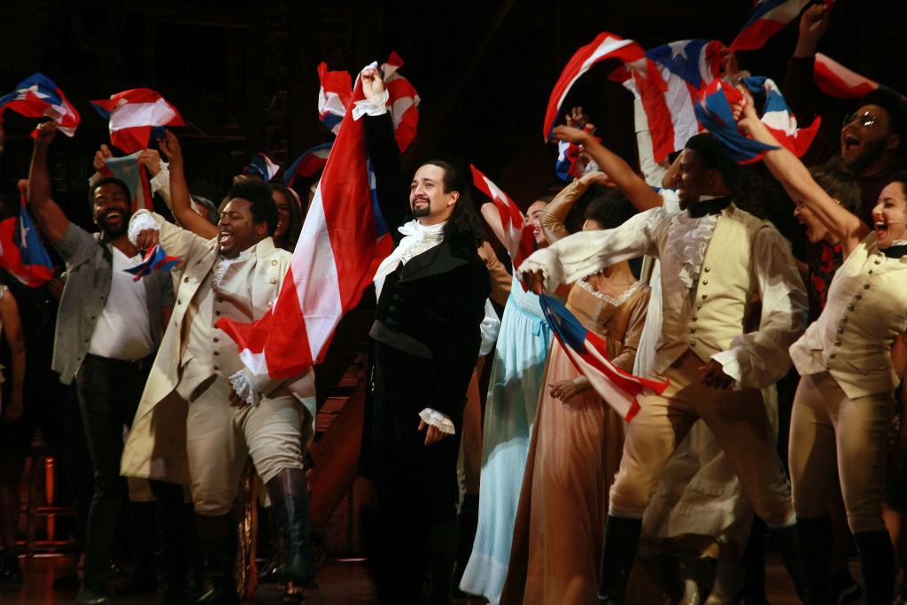 Lin-Manuel Miranda and the cast of 'Hamilton' say goodbye to the audience