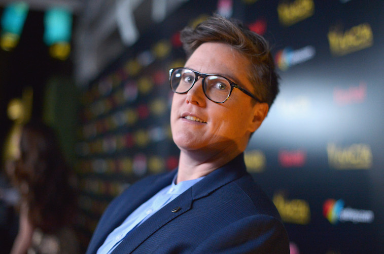 Hannah Gadsby on the red carpet
