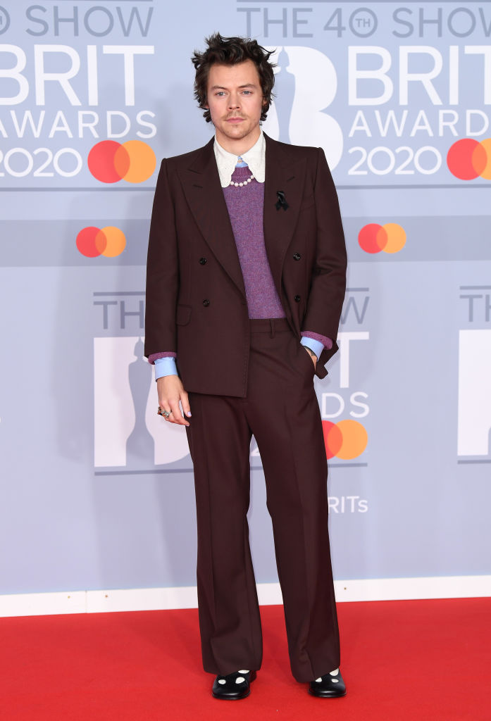 Harry Styles at the 2020 Brit Awards
