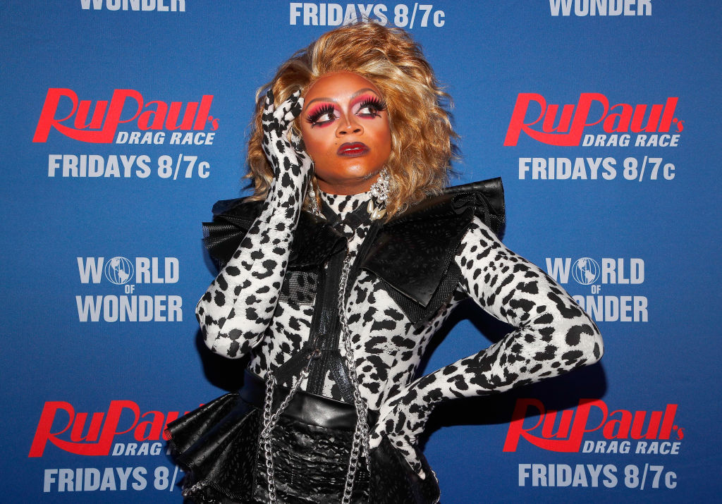 Heidi N. Closet attends  'RuPaul's Drag Race Season 12' meet the queens