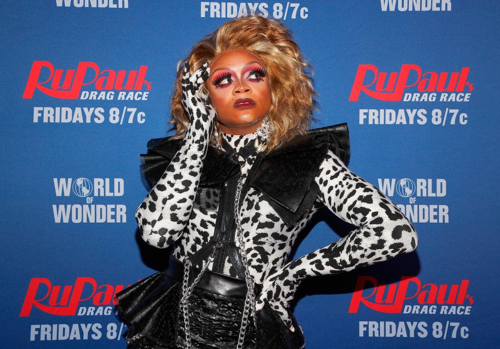Heidi N. Closet attends  'RuPaul's Drag Race Season 12' meet the queens