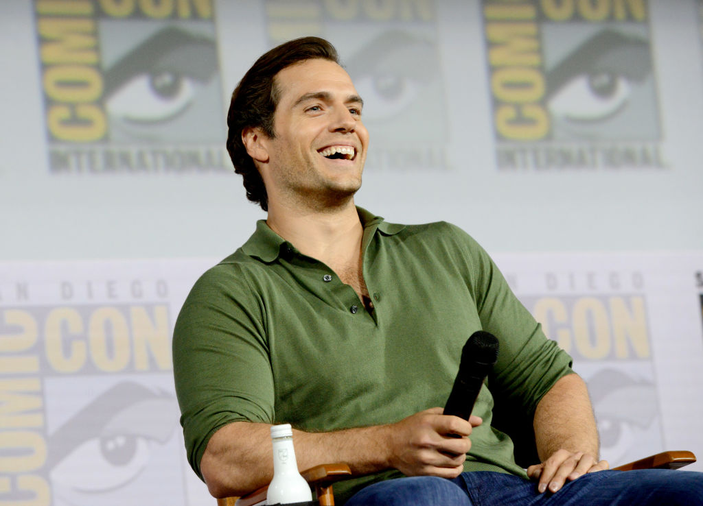 Superman actor Henry Cavill at Comic-Con