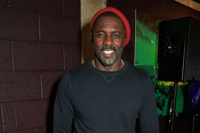 Idris Elba at the press night after party for 'Tree'