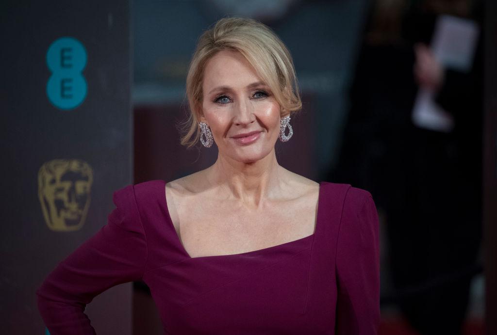 J.K. Rowling of Harry Potter