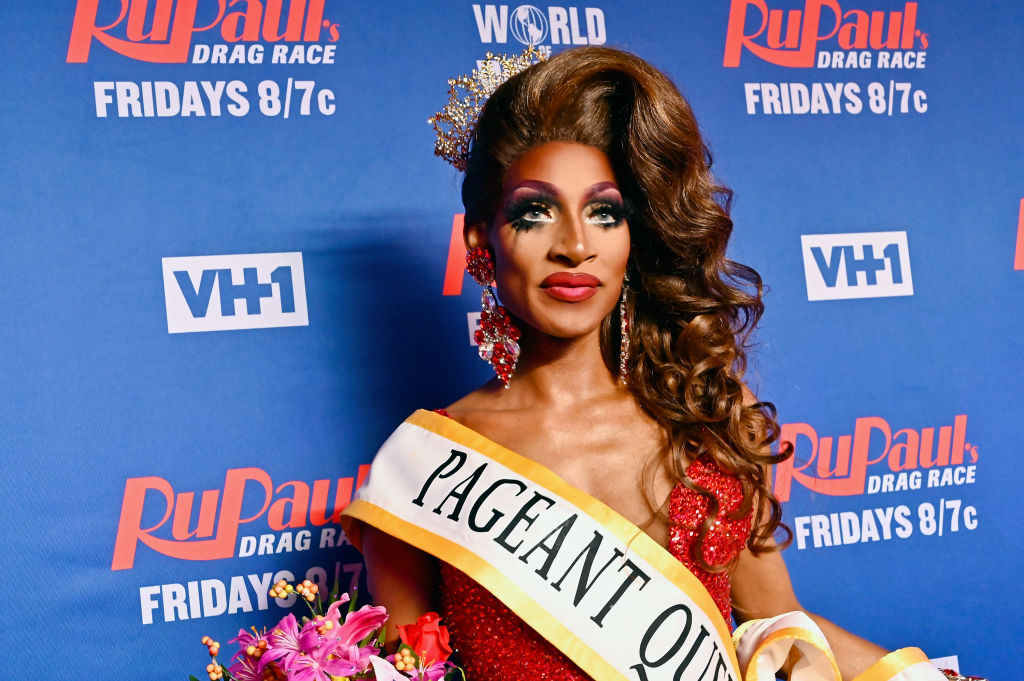 Jaida Essence Hall attends 'RuPaul's Drag Race Season 12'