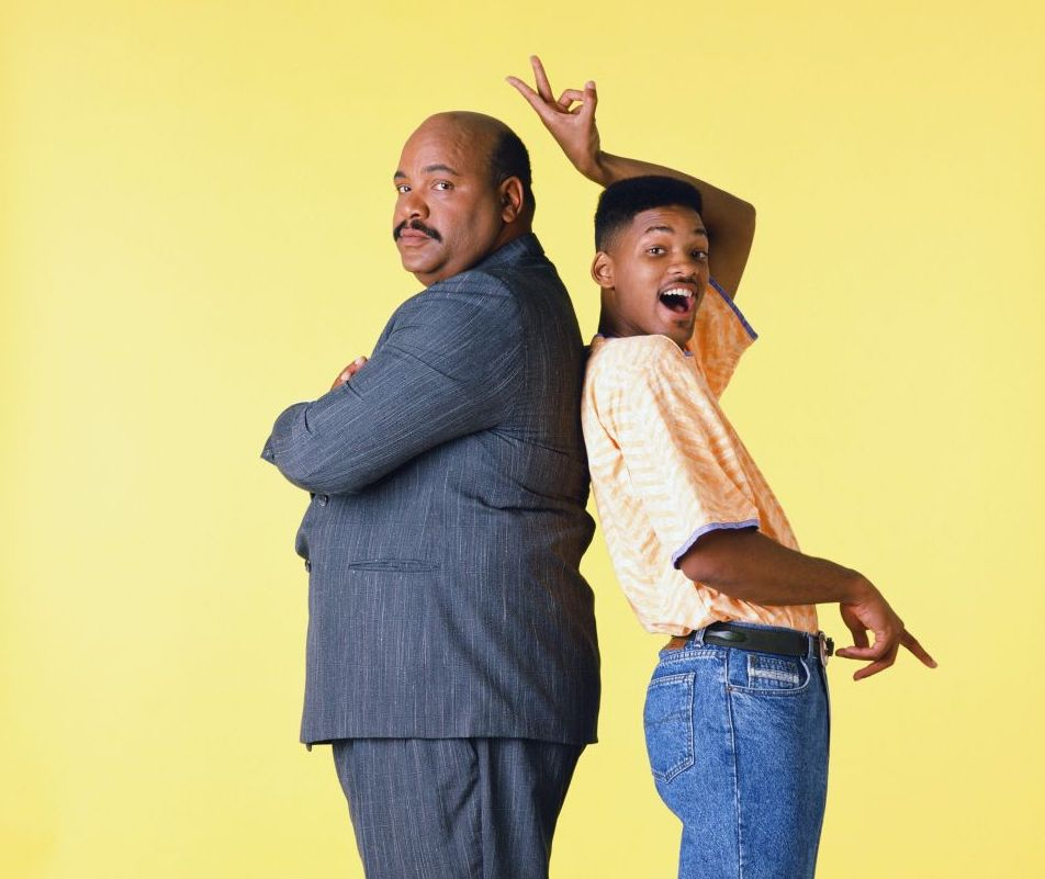 James Avery and Will Smith
