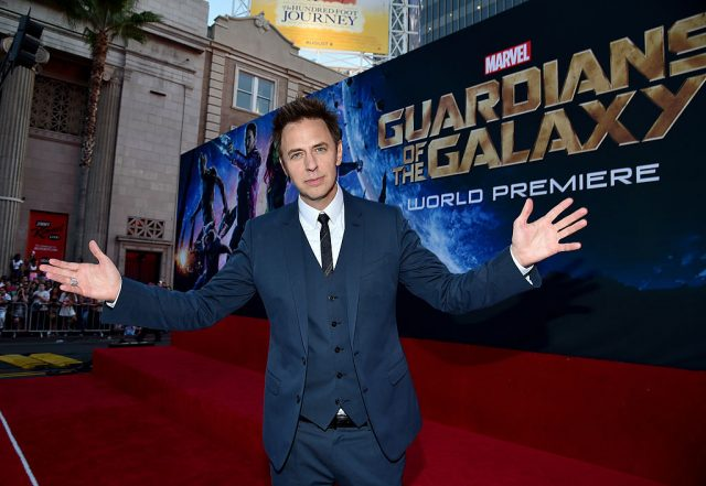 James Gunn at the 'Guardians of the Galaxy' premiere