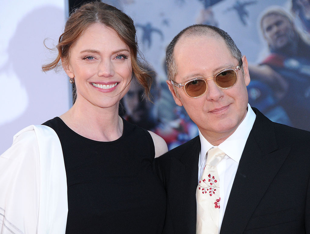 Actress Leslie Stefanson and actor James Spader