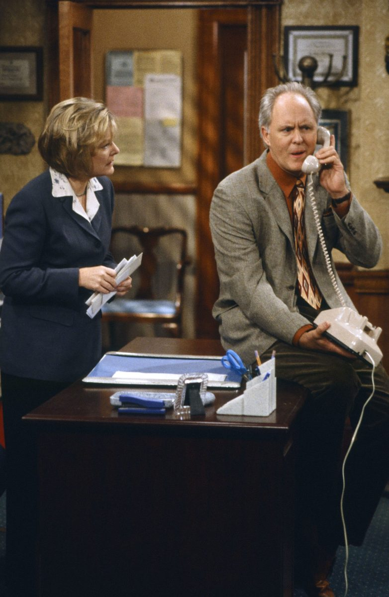 Jane Curtin and John Lithgow in '3rd Rock from the Sun' Season 3