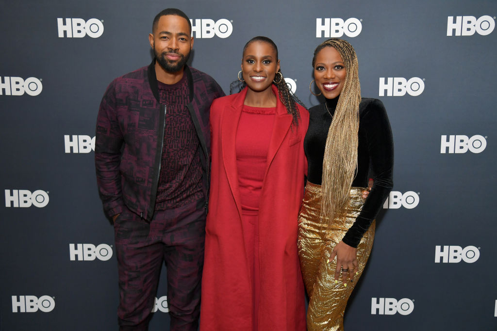 Jay Ellis, Issa Rae, and Yvonne Orji cast of Insecure season 4