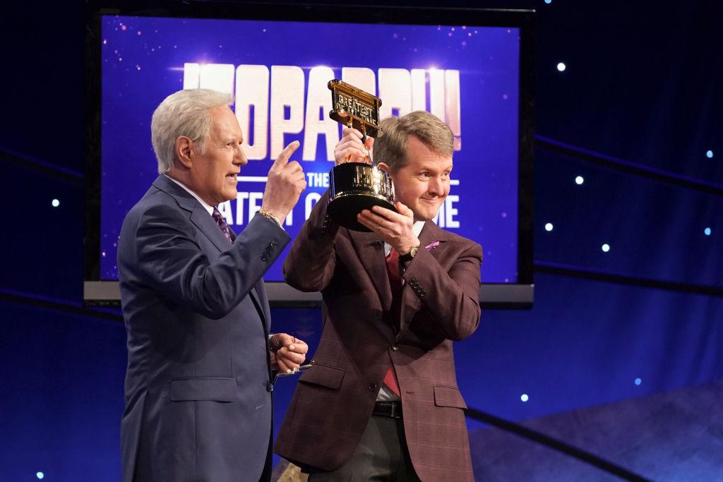 'Jeopardy!' host Alex Trebek and Ken Jennings