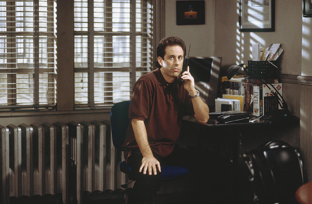 Jerry Seinfeld on Seinfeld