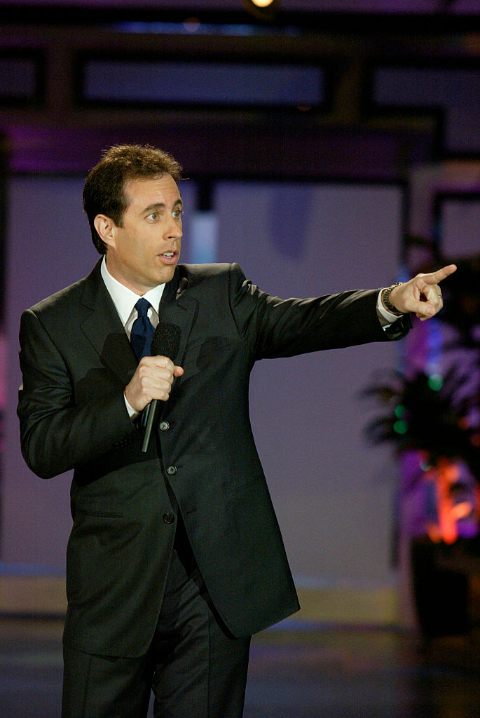 Jerry Seinfeld on stage
