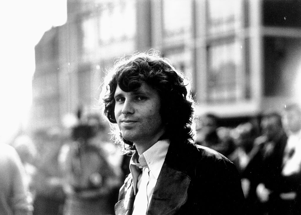 undated photo of Jim Morrison