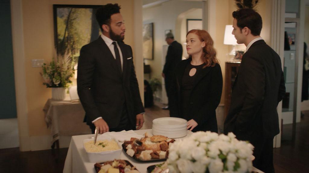 John Clarence Stewart as Simon, Jane Levy as Zoey Clarke, Skylar Astin as Max | NBC/NBCU Photo Bank via Getty Images