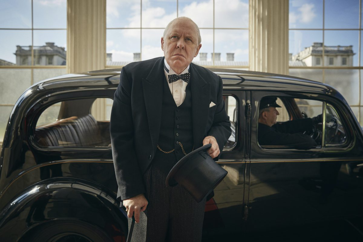 John Lithgow as Winston Churchill in 'The Crown'