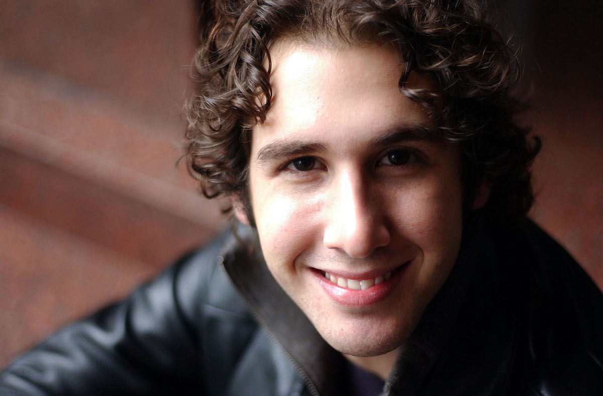 Young Opera Singer Josh Groban from the USA is in New Zealand on a promotion trip