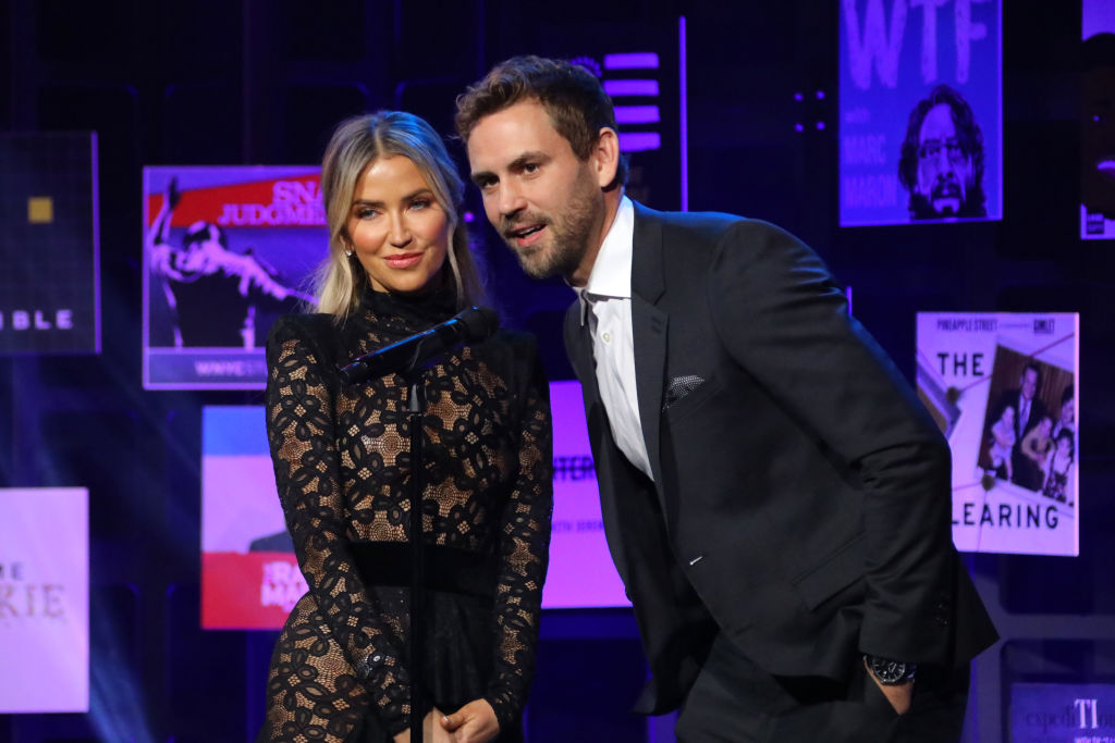 Kaitlyn Bristowe and Nick Viall of 'The Bachelorette' at 2020 iHeartRadio Podcast Awards - Show