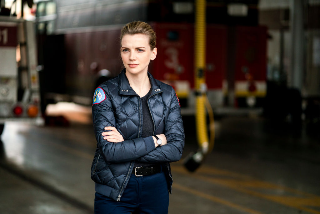 Kara Killmer as Sylvie Brett on 'Chicago Fire'