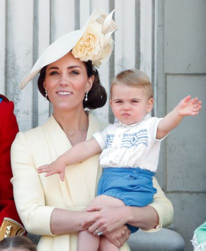 Kate Middleton and Prince Louis at 2019 Trooping the Colour