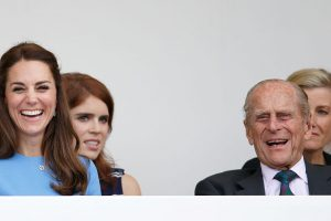 These Photos Show Just How Close Kate Middleton Is With Prince Philip