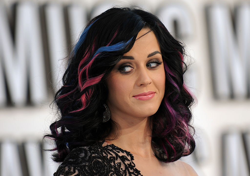 Katy Perry on the red carpet for the MTV Music Awards