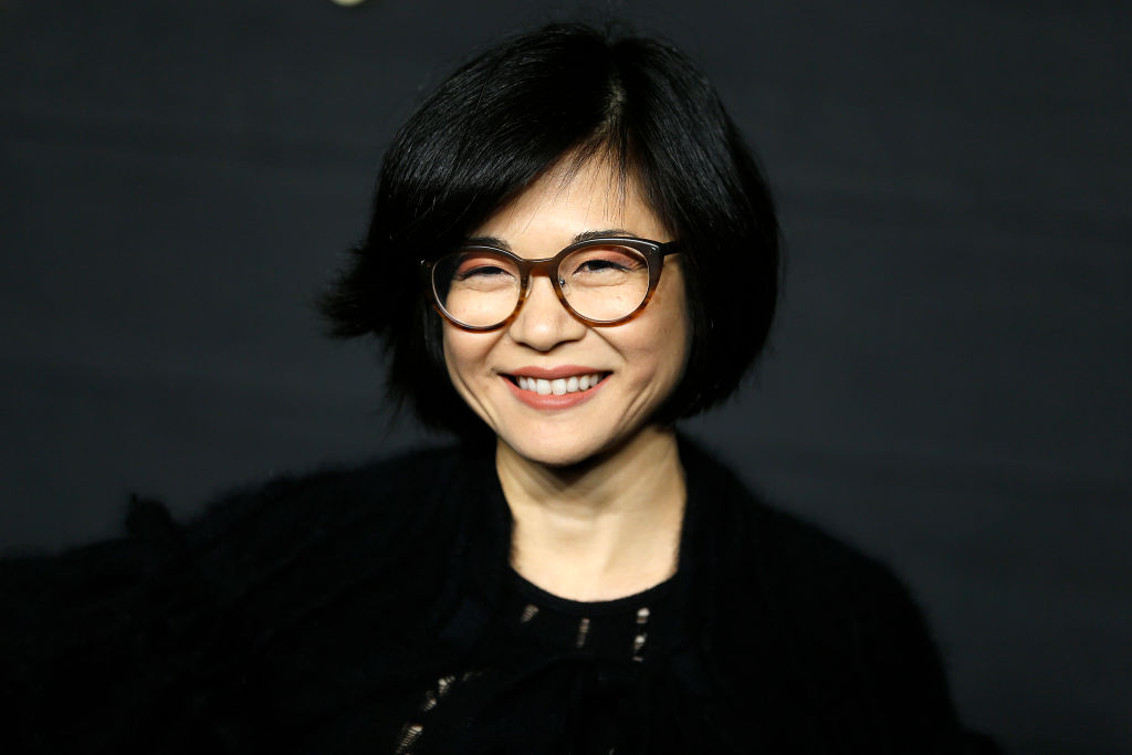 "Keiko Agena attends ""Dickinson"" New York Premiere at St. Ann's Warehouse"