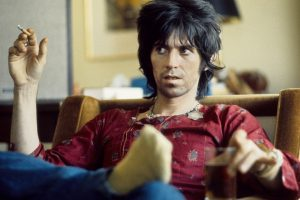 Keith Richards Nearly Burned Down the Playboy Mansion