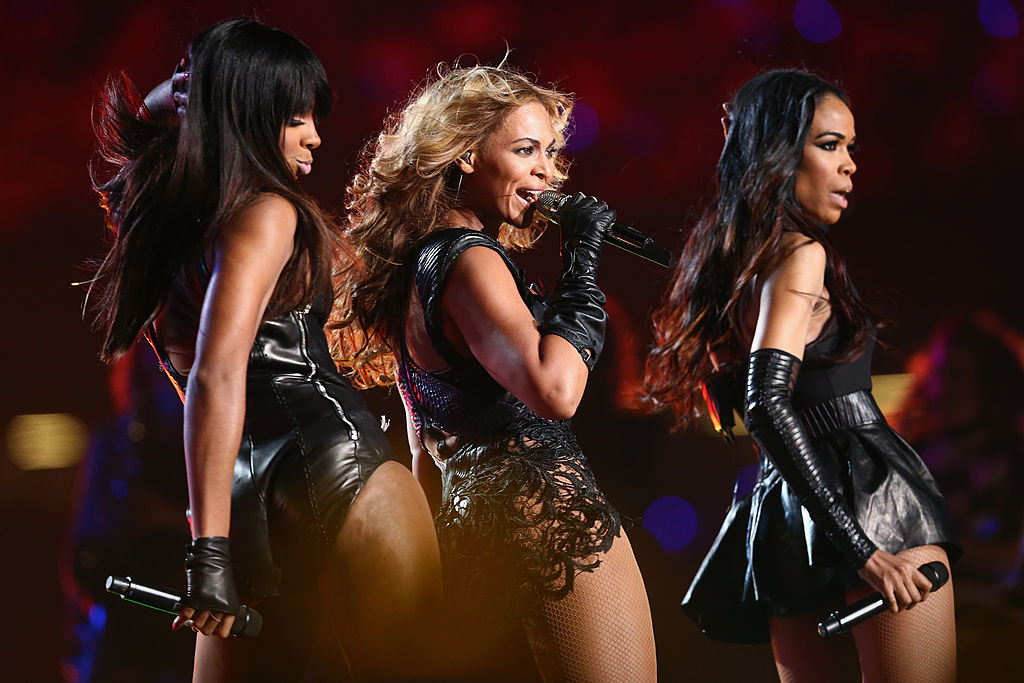 Kelly Rowland, Beyoncé Knowles, and Michelle Williams