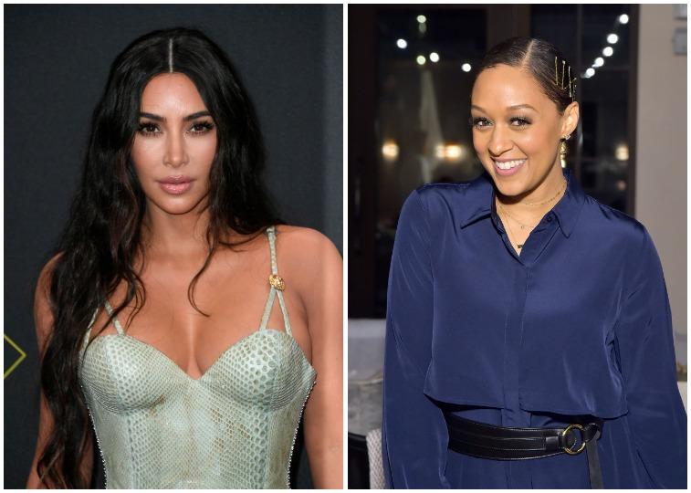 Kim Kardashian West and Tia Mowry