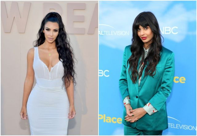 Kim Kardashian West's Birthday Backlash Somehow Includes Jameela Jamil & We're So Confused