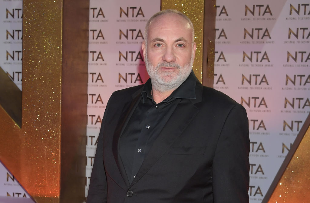 Kim Bodnia, who plays Konstantin,  at the National Television Awards 2020 at The O2 Arena on January 28, 2020 in London, England.