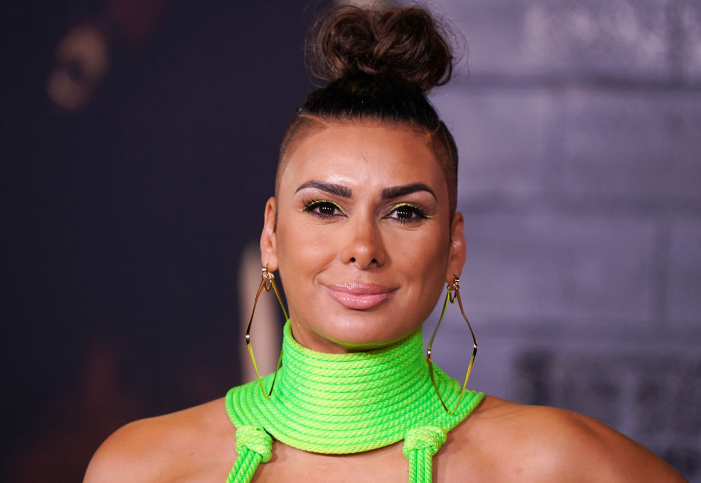 Laura Govan on the red carpet at an event in January 2020