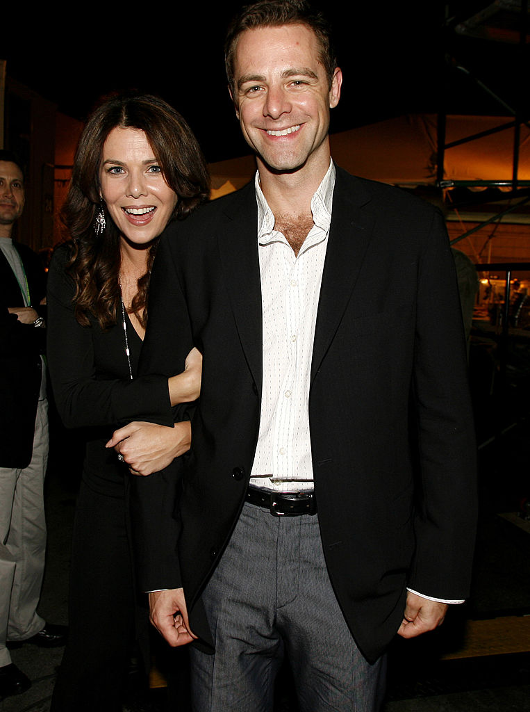 Lauren Graham and David Sutcliffe during CW Launch Party